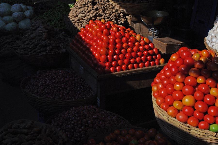 Market stall, Mysore