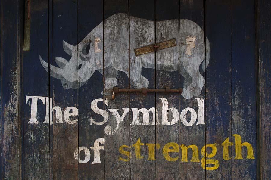 The symbol of strength